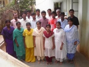 Bibelskoleelever i Indien